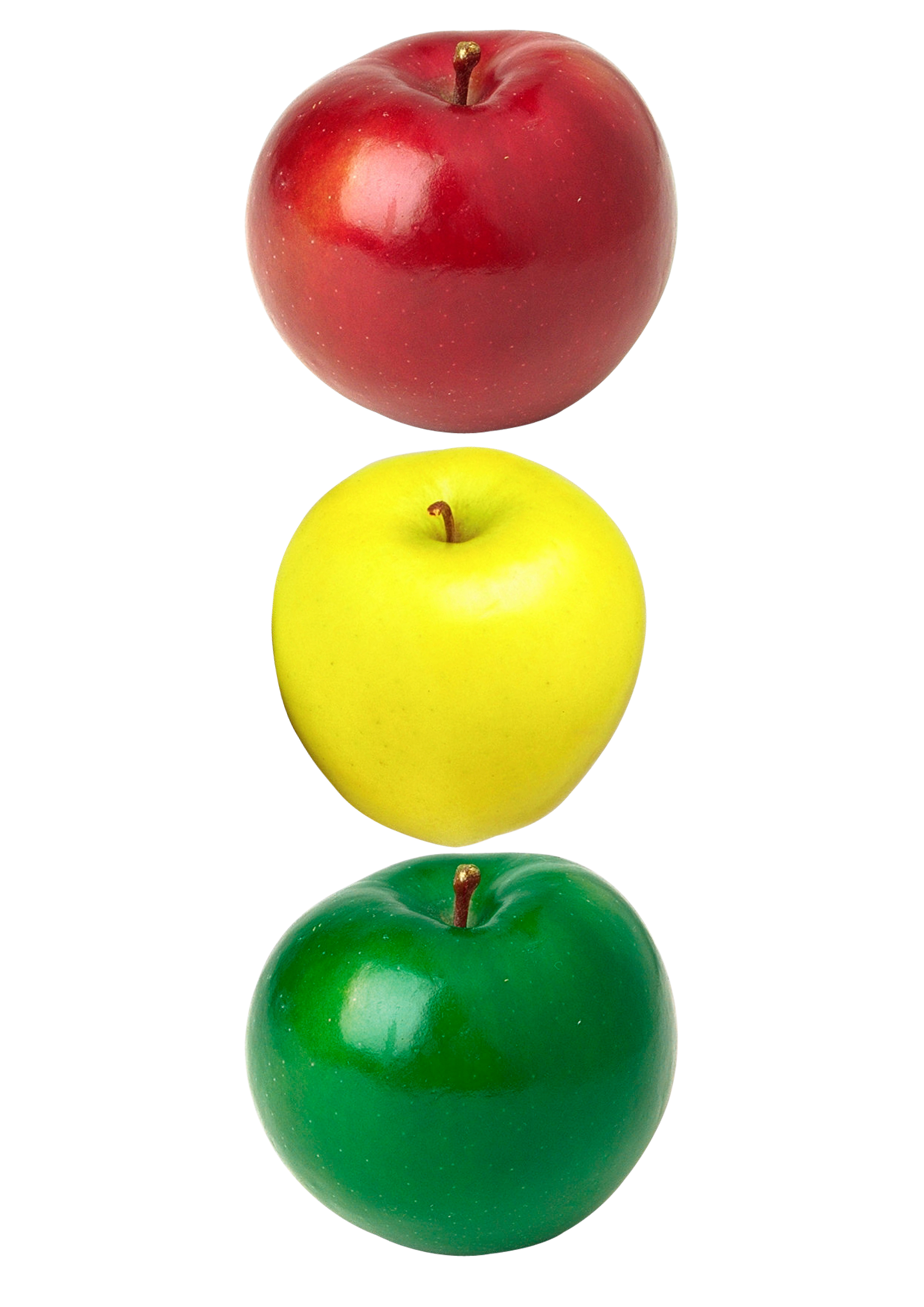 Apples color isolated semaphore